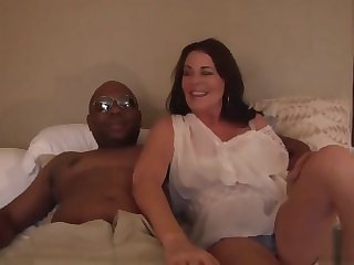 big tits amateur Bella loves his big black cock